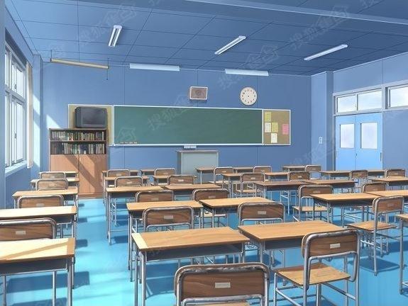 日系动漫和插画里的教室场景 最美不过二次元