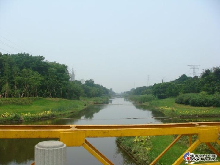 图:下沙江边风景图片-杭州搜狐焦点