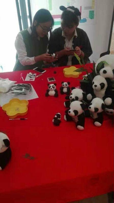 熊猫做粘土的步骤图片