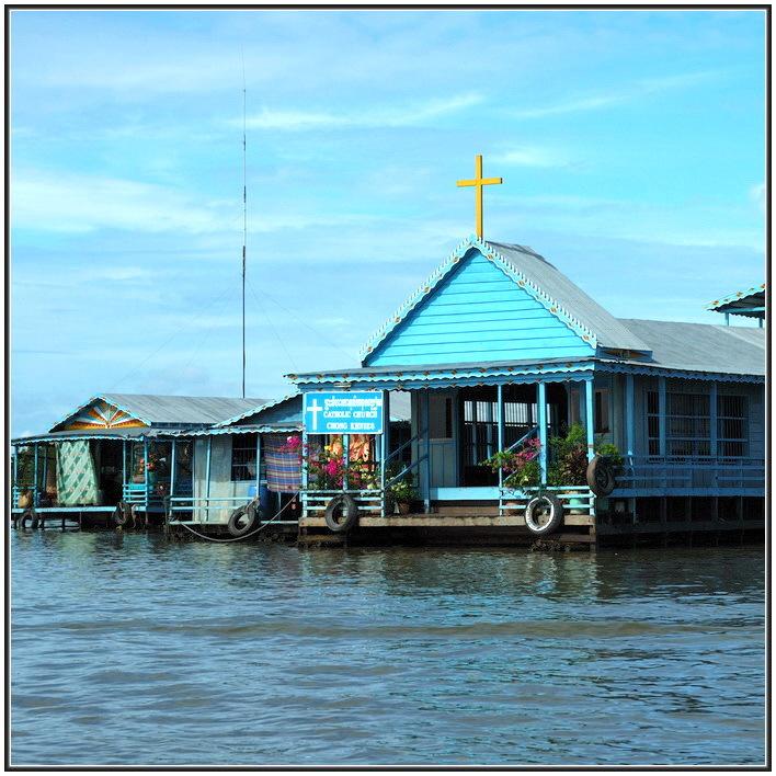 图:建在水上的房子,我喜欢