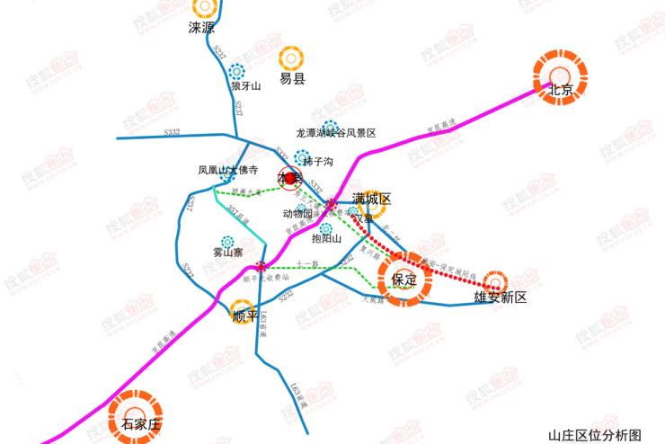 峪园南里社区地图