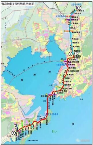 早读:青岛m1号线明年或将提前通车 红岛伊甸园2020年开业