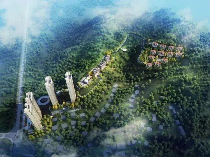 长沙新力帝泊湾意境创想图 新力·帝泊湾位于6400亩谷山森林公园南面