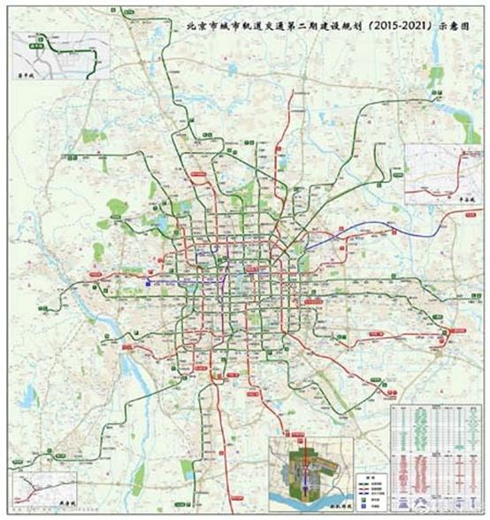 北京最新地铁规划新鲜出炉 沿线优质楼盘推荐图片