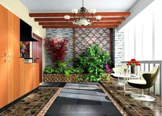 時代城:入戶花園設計,享受進門那一刻的清新!