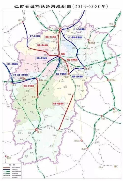 江西抚州城区地图
