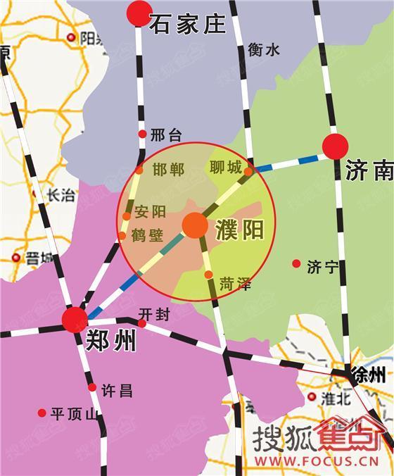濮东高铁站设东西两大广场,全面超越鹤壁安阳,是真正的高铁大站 细心