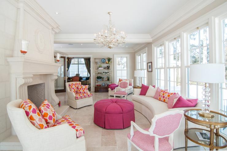 在别墅设计中为自己保留一间公主房吧