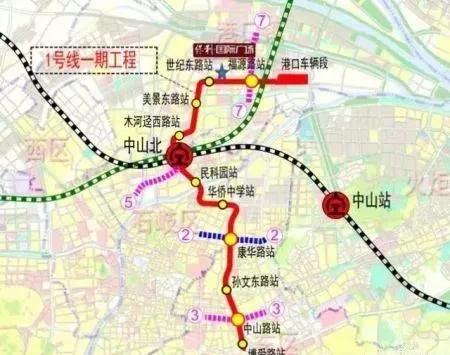 包括建设深茂铁路,南沙港铁路,广州地铁18号线延伸至中山,中山市城市