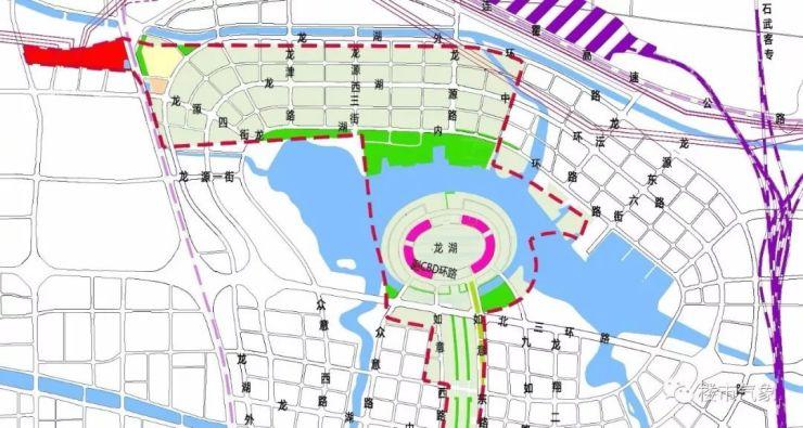 北龙湖规划图高清
