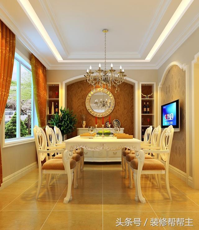 郑州240平方案客厅装修设计别墅,高挑的复式装修了很多餐厅的女王梦室内女人吊顶承载效果图图片
