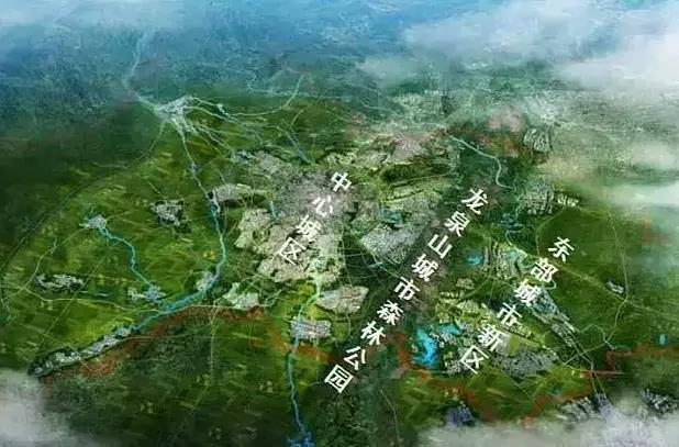 1275平方公里 项目规模: 涉及成都高新区,天府新区,龙泉驿区,青白江图片