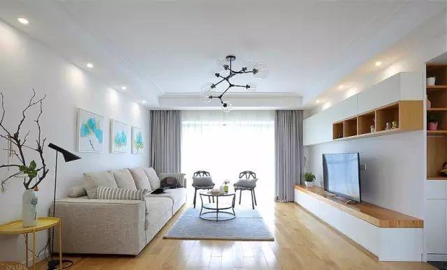 你家适合装修成什么风格  要多少钱 85平小户型,简约北欧风格装修