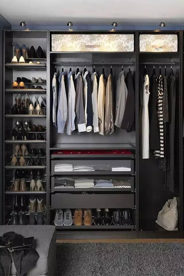|什么样的衣柜结构