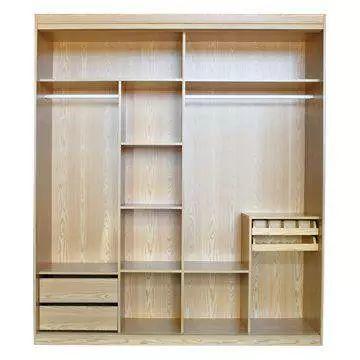 但内部的设计绝对是不合理的   衣柜内部留出大量的格子   不仅做不