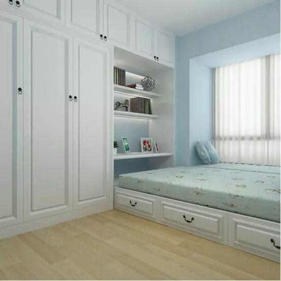 卧室衣柜就这样设计,小房间也能很大气!
