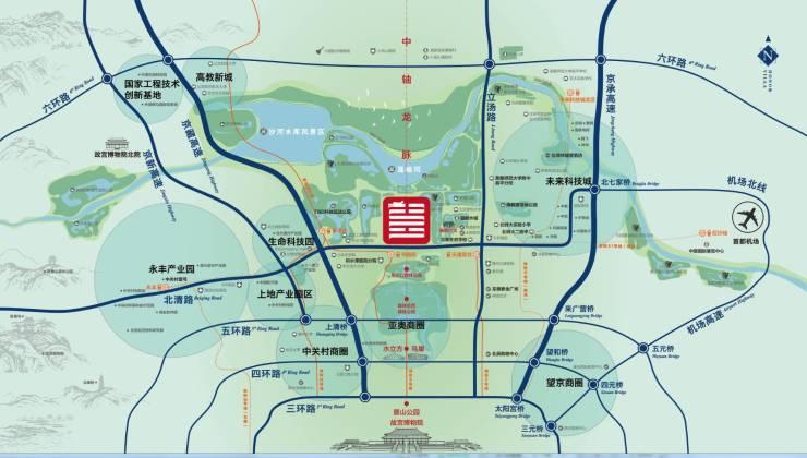 """""""六橫""""中,北清路將整體升級為快速路,解決西至六環路,東至立湯路這一圖片"""