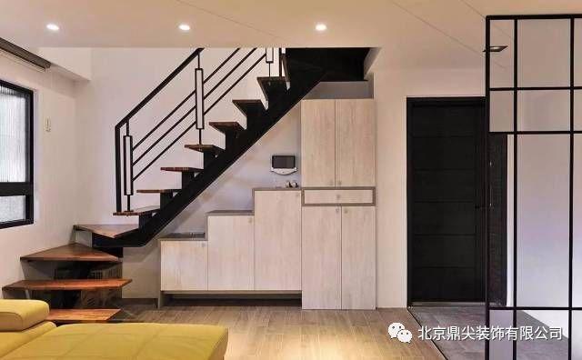 110㎡混搭复式楼装修,属于一家四口的温馨活泼3室2厅!