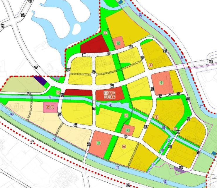 安亭新镇二期规划公布了!