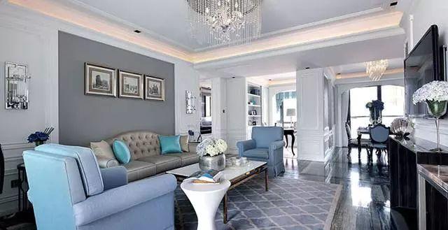 客厅装修壁纸效果图配色秘诀 原来如此!