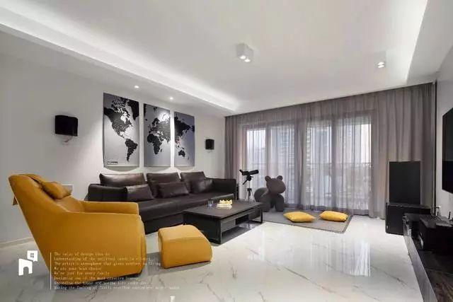 北欧风,极简风格客厅沙发背景墙 看完这个,你家客厅沙发背景墙还会