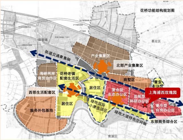 花桥商务区紧邻京沪高速, 上海绕城高速,沈海高速,312国道 嘉闵高架