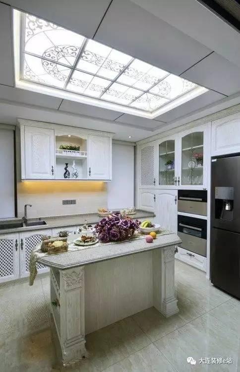 248平欧式风格别墅装修实拍 中岛式厨房还不错哦