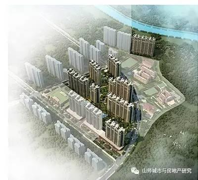 济南市长清区凤凰路以东,澹湖街以北北大沙河以南 区位示意图: 鸟瞰图