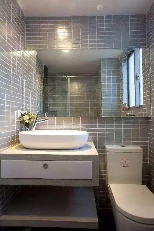 小户型的卫生间,4平米以下照样干湿分离!