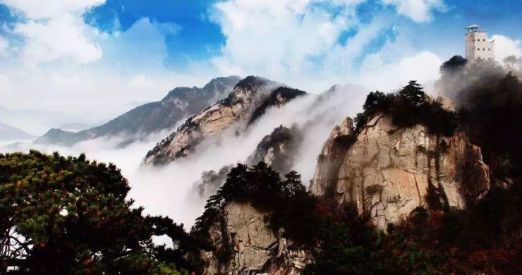 美丽六安,如画风景引万人旅游过年