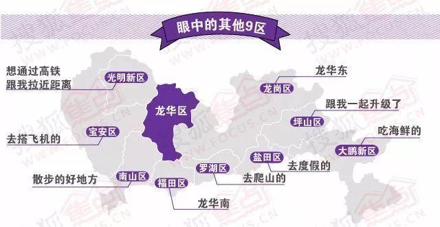 深圳行政地图全图2018
