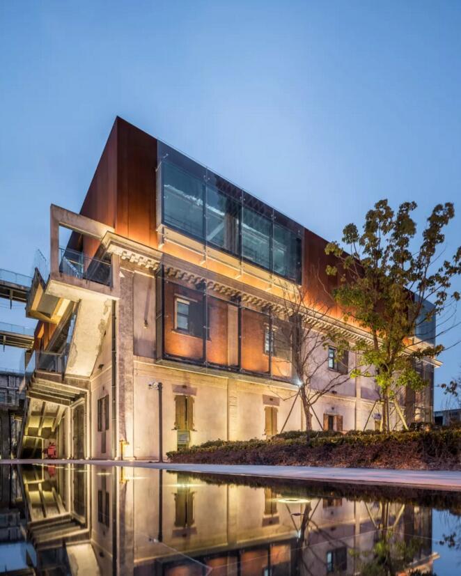 滨江文化城270号库 工业遗产变身创意办公新地标