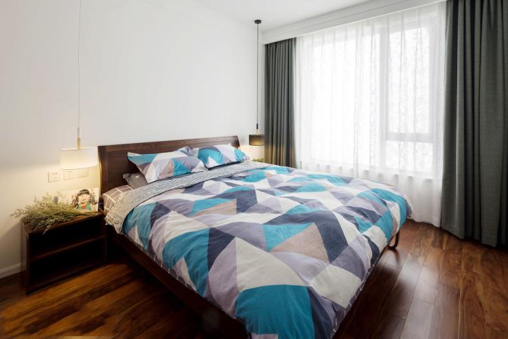 芜湖红梅新村60平极简风设计 简洁明朗,看着舒服!