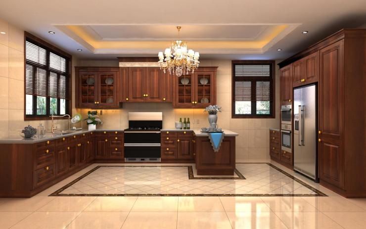 開放式廚房如何兼顧美感與實用? 集成灶怎么樣?-