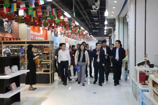 私享荟、湖北外商投资企业协会到访武汉自贸城