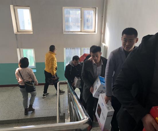 泽信控股吉林房产公司 为爱奔跑 捐资义举 感动江城