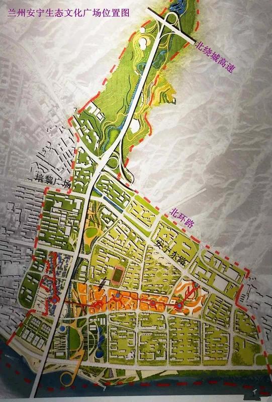 兰州文化中心为安宁生态文化广场助力 打造一个全新的文化教育城