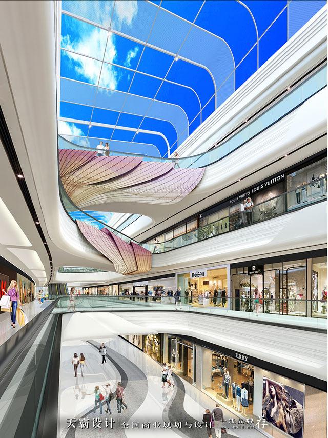 上海青浦万达茂与周口淮阳天鸿世贸广场:荷花设计主题的不同之美