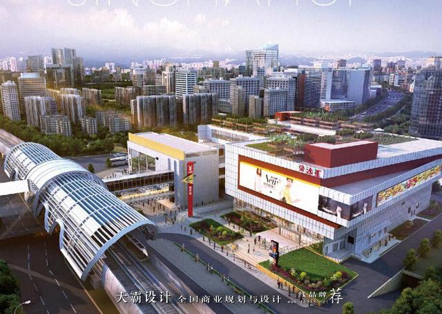 花城金沙汇购物中心让广州从此鲜活起来