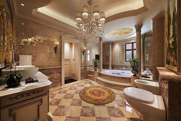 歐式浴室改造裝修如何節省成本—歐式風格