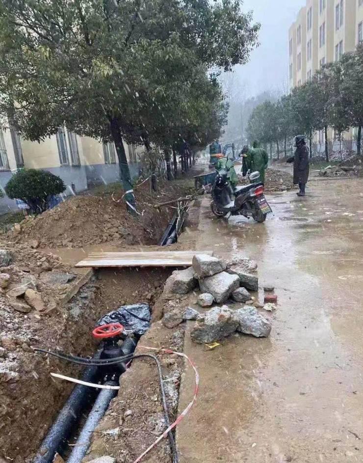 信阳市六职高消防改造工程先施工后评标