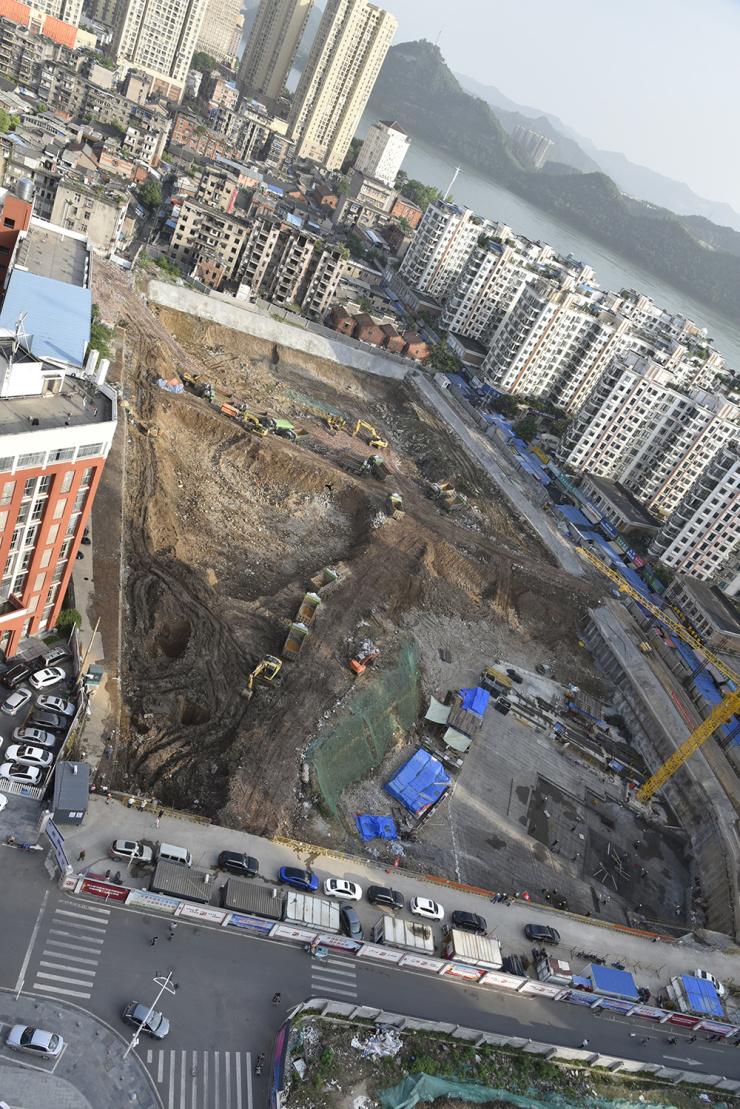 旧城变新城 俯瞰宜昌老城区环城南路的蜕变