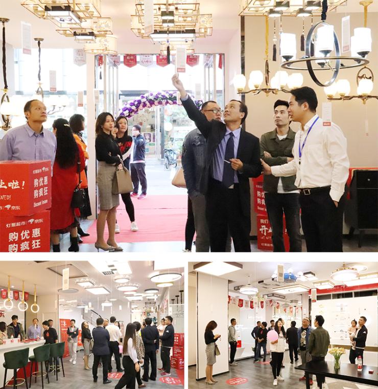 灯聚超市郑州700平方米体验店开业