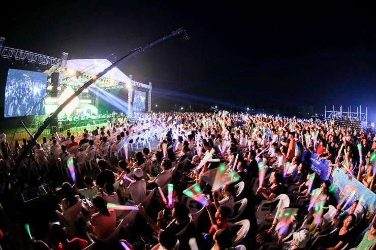 5000人现场狂欢!宁波首届蓝海音乐节完美落幕,嗨爆北仑!