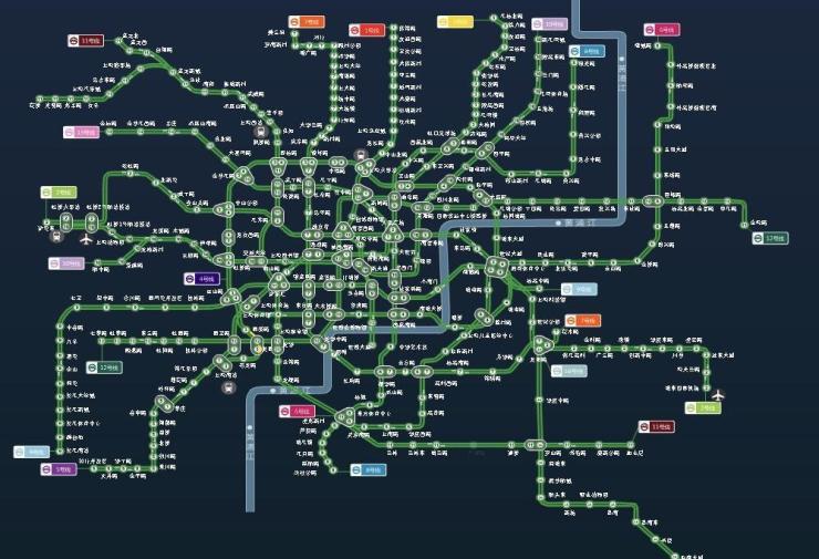 2035年上海轨交新增多线 你家门口有几条?