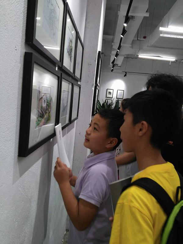 段武森精修手绘学员作品展 亮相艺棠软装艺术定制馆