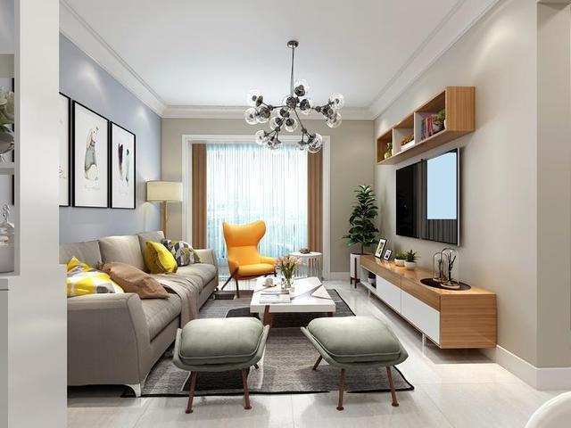 【西安裝修設計】48平米的新房裝這樣,北歐高級調!