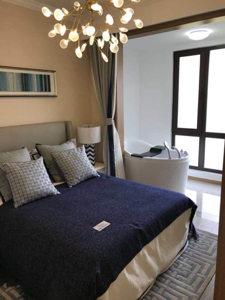 唐山国际旅游岛 拉唯那一线海景住宅 私人温泉沙滩 户户通温泉