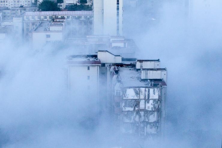 冰熊大厦,再见! 美丽郑州,你好 !