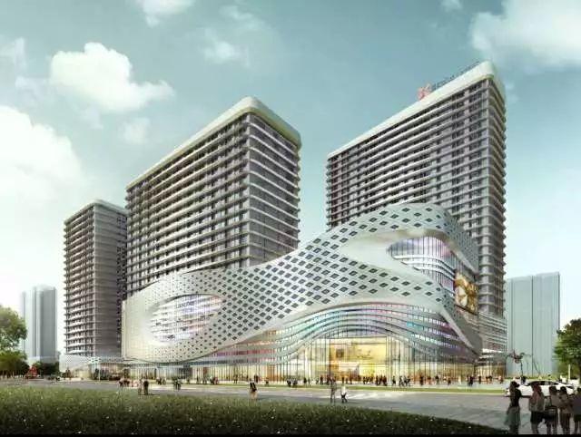 4月3日,南城商业中心盛大开工!
